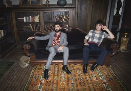 MGMT photographed at Beckett Mansion for Columbia Recirds