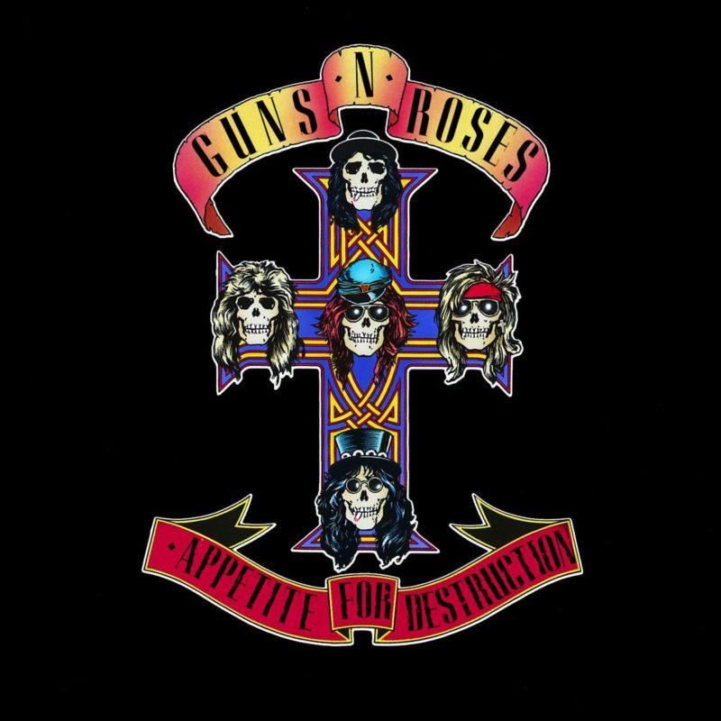 GUNS N' ROSES – Debüt APPETITE FOR DESTRUCTION erscheint komplett remastert