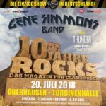 GENE SIMMONS – exklusives Deutschlandkonzert in der Turbinenhalle Oberhausen