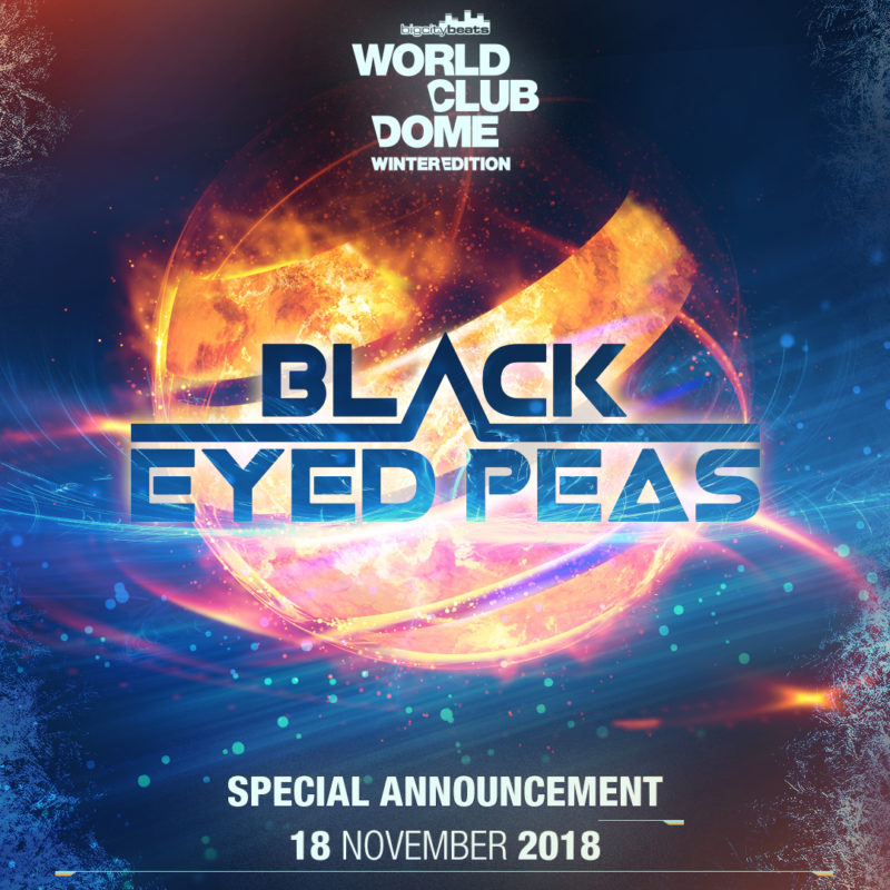 Breaking News – The Black Eyed Peas kommen zur BigCityBeats WORLD CLUB DOME Winter Edition nach Düsseldorf