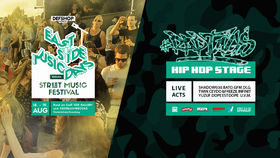 #RAPTAGS2018 Bühne bei den EAST SIDE MUSIC DAYS