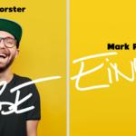 """MARK FORSTER: Neue Single """"Einmal"""" erscheint heute"""