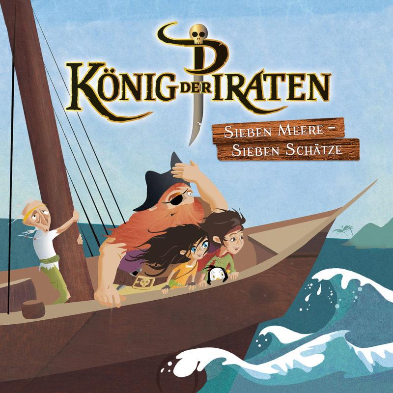 """König der Piraten: """"Sieben Meere – Sieben Schätze"""" – Der Start der neuen Hörspielreihe mit Santiano"""