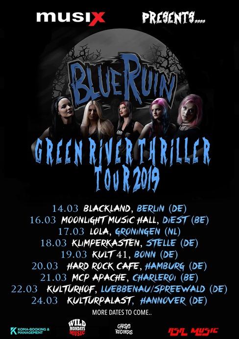 BLUE RUIN kommen endlich nach Deutschland!