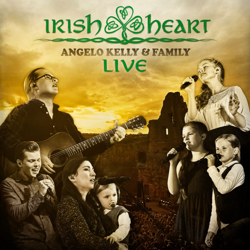 """ANGELO KELLY & FAMILY erhalten Gold für ihr aktuelles Studioalbum """"Irish Heart""""!"""
