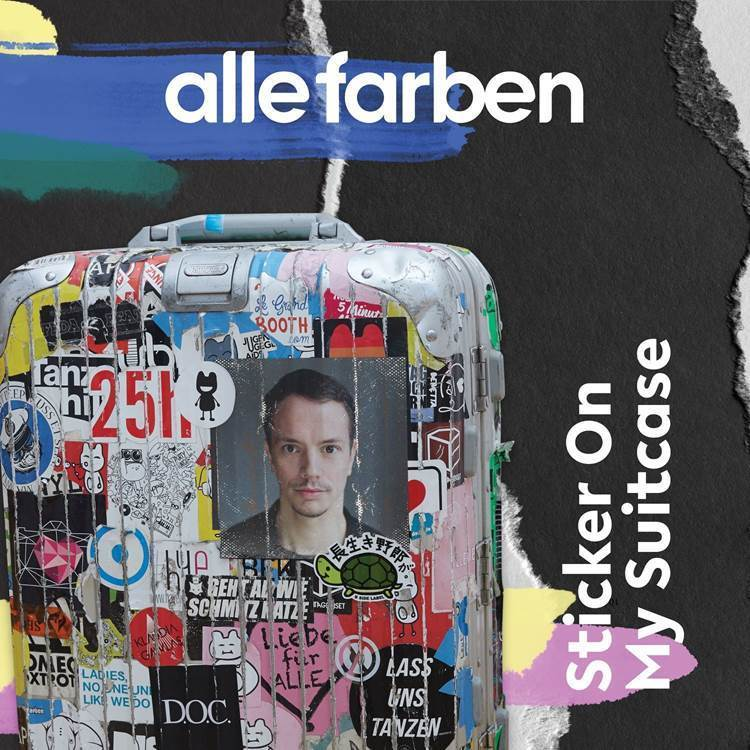 """Neues Alle Farben-Album """"Sticker On My Suitcase"""" out now"""