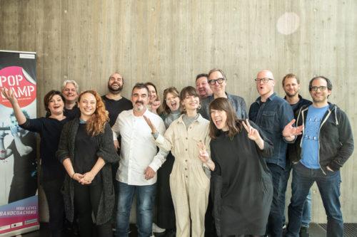 PopCamp Jury 2019 - © Ludewig Stiehler